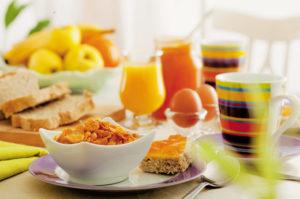Café da manhã e as práticas saudáveis